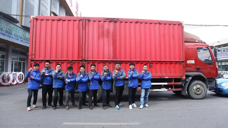 JDG管物流配送团队