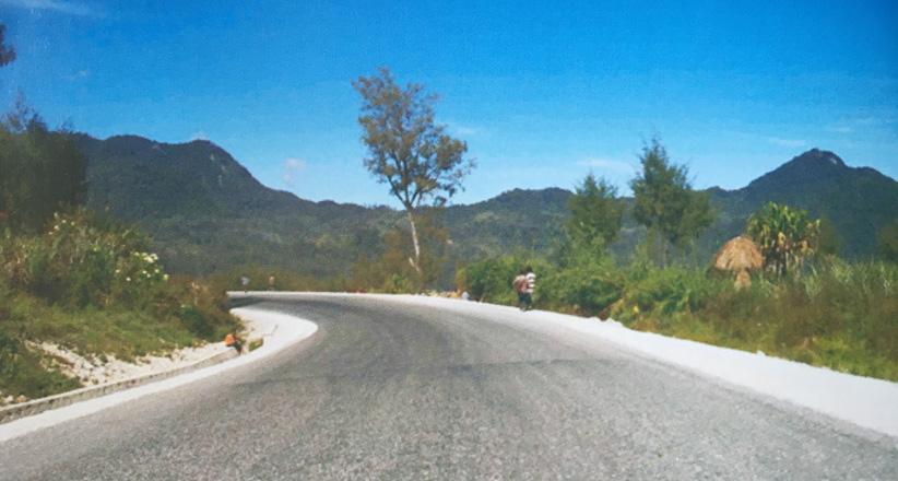 巴布亚新几内亚.l-p公路升级维修项目