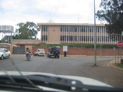 中国驻卢旺达使馆工程