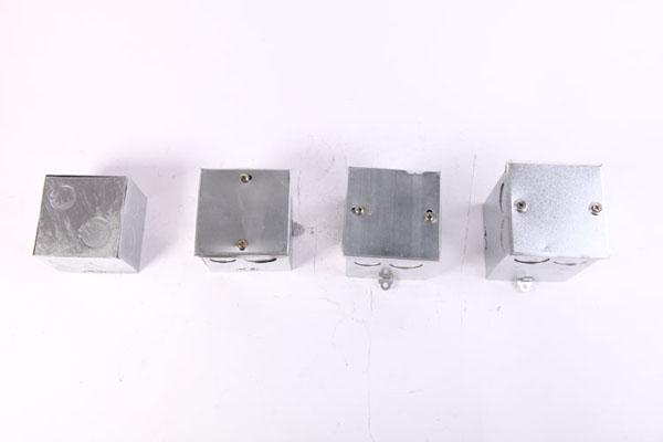 86型金属接线盒-焊接活底方盒