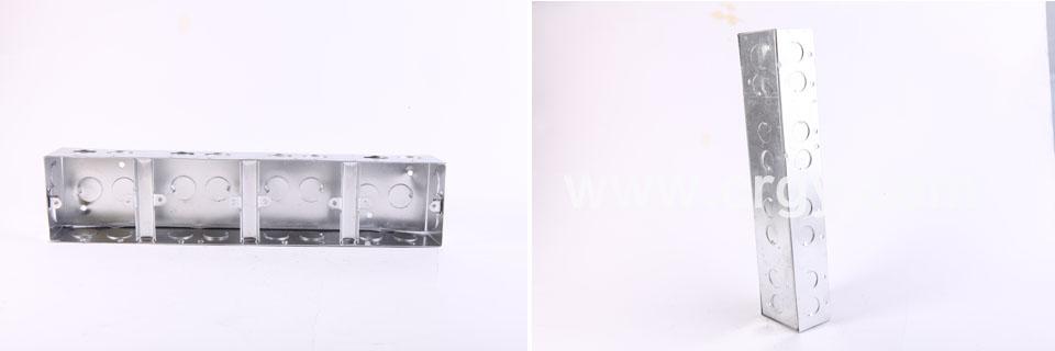 金属接线盒-双联盒/三联盒/四联盒